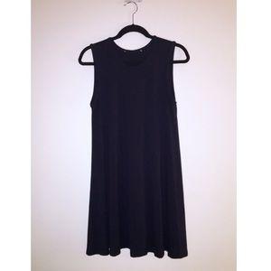 Navy Blue Swing Dress